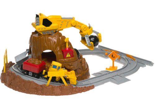 Fisher-Price GeoTrax Rail & Road System - Mt. Blast Construction Co.