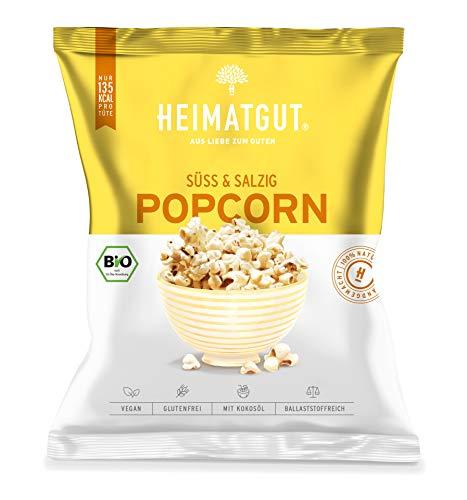 BIO Heimatgut Popcorn Süß und Salzig ein perfekter Knabberspaß 90g