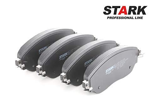 Preisvergleich Produktbild STARK SKBP-0011398 Bremsbelagsatz,  Scheibenbremse Scheibenbremsbelage,  Bremssteine,  Bremsklötze Vorne