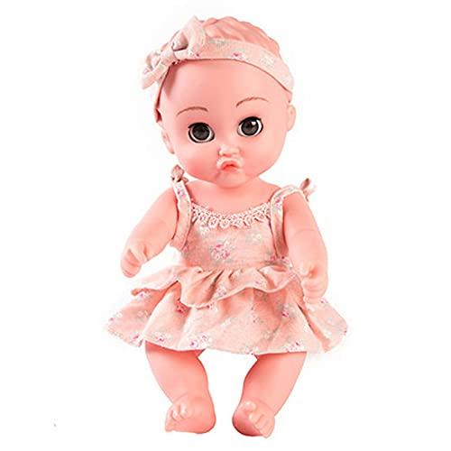 FSADGNO Simulazione per Bambini Bambola di Gomma Morbida per Bambini Peluche Bambola di pezza Bambola Carina per Ragazza
