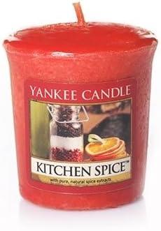 Amazon Com Yankee Candle Kitchen Spice Votive Candle Home Kitchen