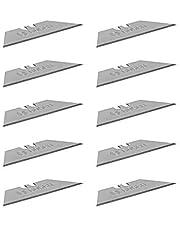 Bosch Professional 10 Vervangingsmessen Voor Vouwmessen (Trapeziumvormige Messen In Éénhandige Dispenser, Incl. Safety Transport Box)