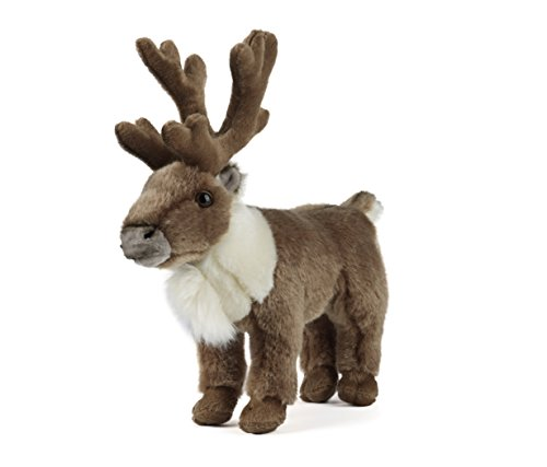 Living Nature knuffeldier - rendier (23cm)