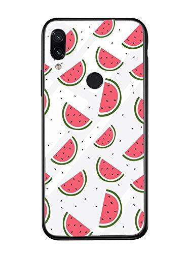Alsoar Case ersatz für Xiaomi Mi A1 Hülle Transparent Silikon Handyhülle Durchsichtig Antikratz Schutzhülle,Gehärtetem Glas Rückseite mit Soft Rahmen Tier Süß Shell für Xiaomi Mi 5X (Wassermelone)