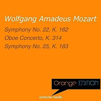 Orange Edition - Mozart: Symphony No. 22, K. 162 & Symphony No. 25, K. 183