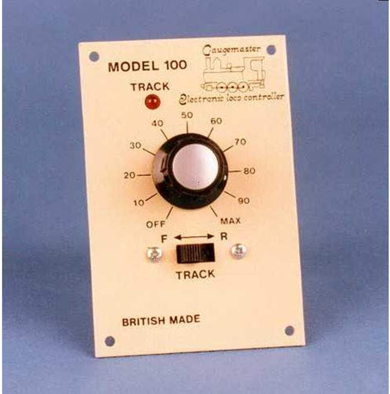 Gaugemaster GMGMC100LGB Single Track Panel Mounted Controller for G Scale