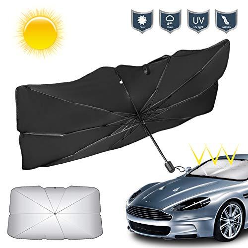 Parabrisas de coche parasol parasol plegable parabrisas delantero de coche parasol cubierta...