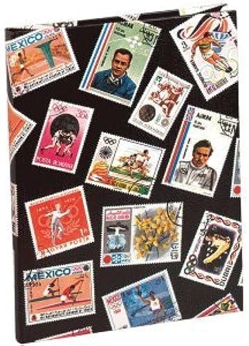 Exacompta 5 x Briefmarkenalbum Sport 16,5x22,5cm 16 Seiten