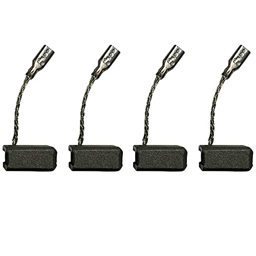 4 PCS Carbon Brushes Compatible for Bosch 1380 GWS 7-115 Angle Grinder 1 619 P02 870 S16G, Brush Replacement Part for Power Tools