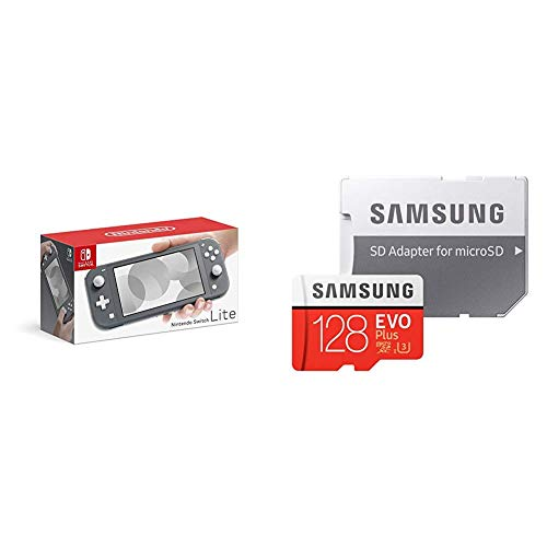 Nintendo Switch Lite グレー + Samsung microSDカード128GB セット