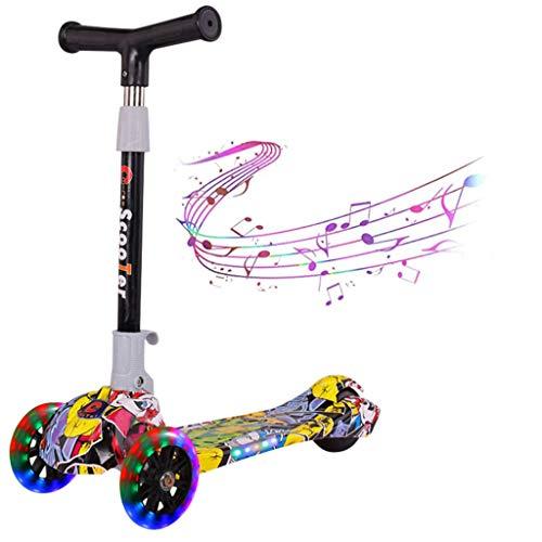 Buy Bargain Kick Scooter for Boys & Girls 3 Wheel Scooter, Kick Scooter for Kids Adjustable Height, ...
