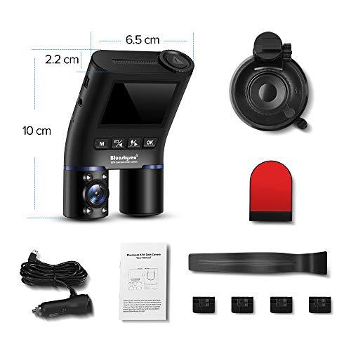 BlueskyseaドライブレコーダーB2W前後カメラ車内+車外WDR2カメラドラレコ赤外線暗視機能HD1080PWi-FiSONY製センサードライブレコーダー前後カメラIRカットフィルター132°度広視野角駐車モードGPS機能(別売)400GB(別売)サポート煽り運転防止ドラレコー日本語説明書付き