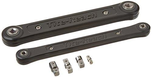 Tite-Reach - Schraubenschlüssel-Verlängerung Kombiset 3/8 & 1/4 Schwarz
