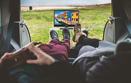 MEDION E11681 39,6 cm (15,6 Zoll) HD Fernseher (HD Triple Tuner, DVB-T2 HD, 12V KFZ Car-Adapter, CI+, Mediaplayer)
