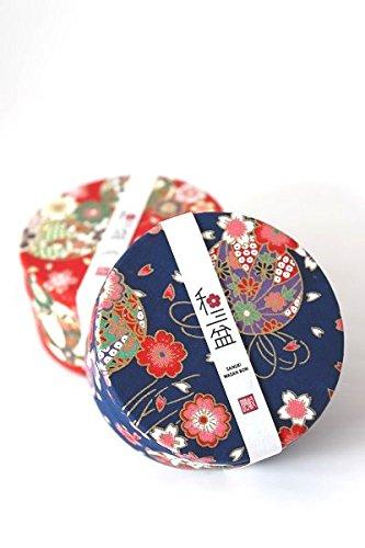 和三盆缶入り 干菓子 (缶の色(青))