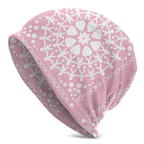 longdai Funda de cojín rosa con cadena de papel para hombre y...