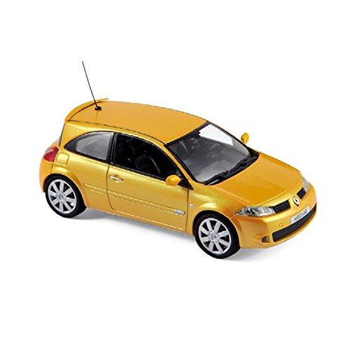 Norev 517635 - Renault Megane RS (Modelos 2004-1/43), Color Amarillo