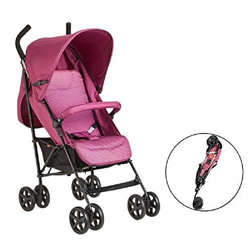 ZXCVB Einzigartige Acht-Rad-Kinderwagen, vielseitig und komfortabel Spaziergänger, Licht und Faltbare