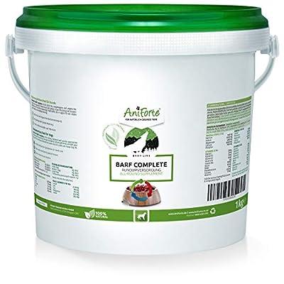 AniForte BARF Complete 1000g: Dog Food Supplement with Minerals, Gluten Free