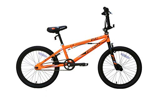Firefox Bikes Skull 20T BMX Stunts Bike 20T Single Speed (Matt Neon Orange)