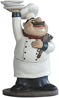 """Best George S. Chen Imports SS-G-65003 Chef Holding Plates Figurine, 10.75"""" Review"""