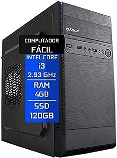 Computador Fácil Intel Core I3 DDR3 2.93Ghz 4GB SSD 120GB