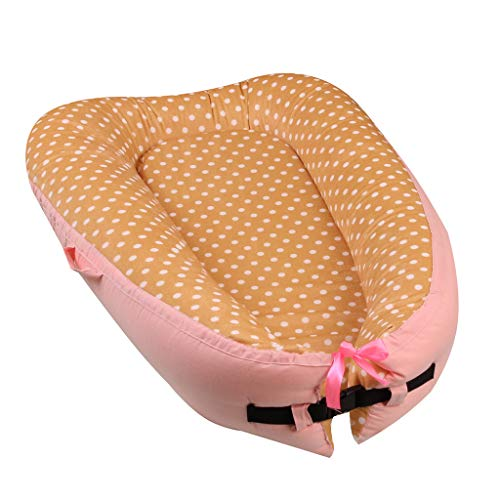 Best Deals! Multifunctional Baby Nest, ZSBAYU Newborn Baby Lounger, Infant Sleeping Nest/Pods Breath...