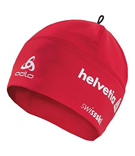 Odlo Unisex Mütze Polyknit Fan, Einheitsgröße, Rot (CHFHE)