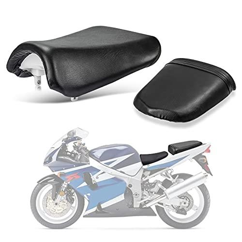 pslcustomerservice Front Rider Driver Rear Passanger Seat Pillion Cushion for Suzuki GSXR600 750 2004-2005