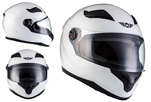 MOTO X86 Gloss White · Casco Integrale Urbano Scooter Moto motociclet