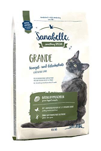 Sanabelle Grande | Katzentrockenfutter für ausgewachsene Katzen (besonders geeignet für große Rassen), 1er Pack (1 x 10000 g)