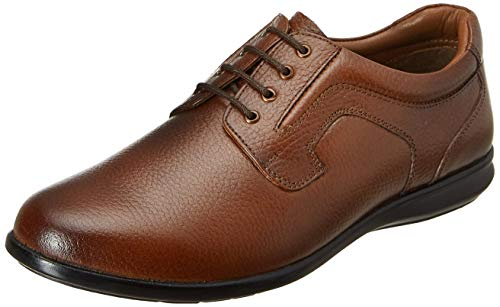 Burwood Men's Tan Leather Formal Shoes-9 UK/India (43EU) (BW 69)
