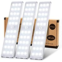 3-Pack KSQ LED Wireless Under Cabinet Lights