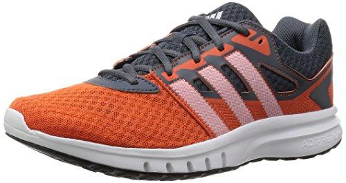 adidas Herren Galaxy 2 M Laufschuhe, Grey/Orange/White (Onix/Narsup/Ftwbla), 47 1/3 EU