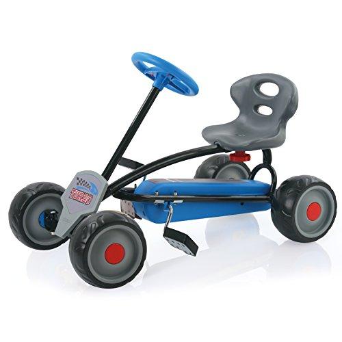 Hauck Lil'Turbo Pedal Go Kart, Azul