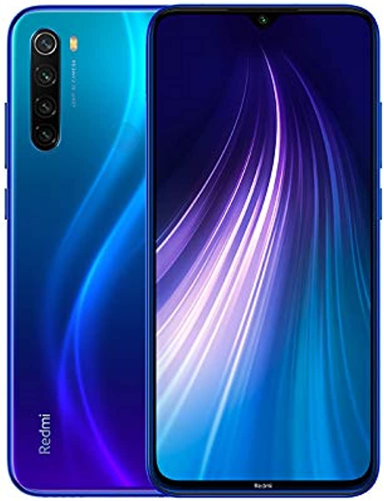 Xiaomi redmi note 8 smartphone 4gb 65gb blue Redmi note8 - 64 -Neptune Blue