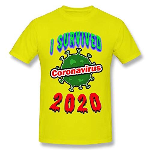 YDXH Coronavirus Camiseta clásica Mejor para los niños, Creativo Camiseta,2,L