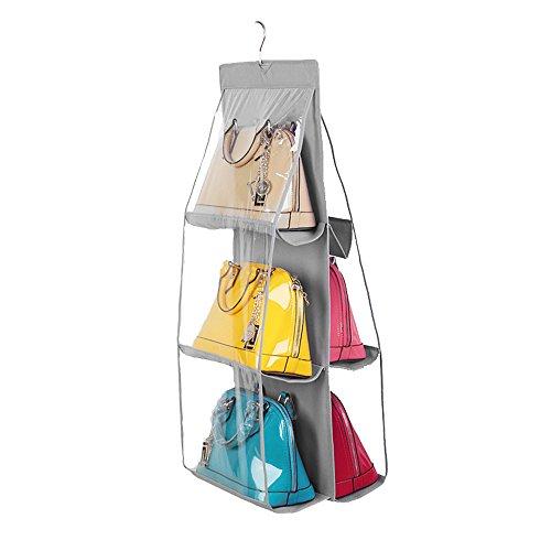 Qearly Mode Grande étagères Murale étagère Suspendue Cube de Rangement-Gris