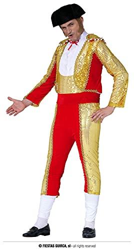 FIESTAS GUIRCA Disfraz de Torero Hombre Adulto Talla L 52-54
