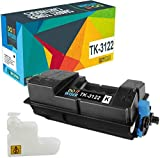Do it Wiser Compatible Toner Cartridge Replacement for Kyocera TK-3122 Kyocera Ecosys FS-4200DN M3550idn 1T02L10US0 (Black)