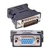 LFH DMS-59pin macho a 15Pin VGA RGB hembra adaptador de extensión para tarjeta gráfica PC