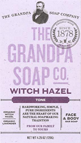 Grandpa's Soap Co. - Face & Body Bar Soap Witch Hazel - 4,25 oz.