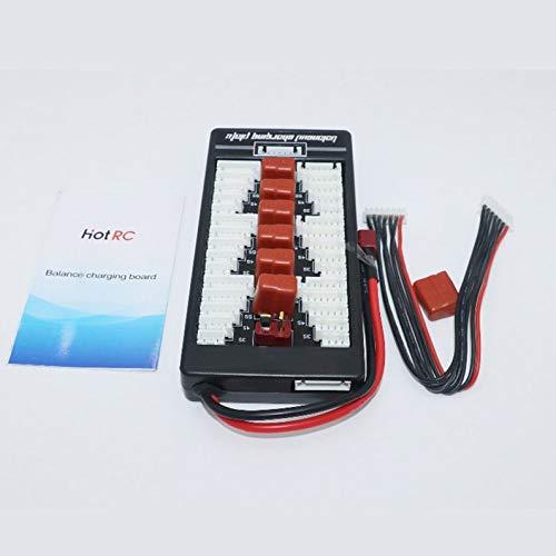 deYukiko HotRc 2S-6S T Plug Lipo Battery Parallel Charging Board for IMAX B6 Charger