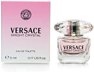 Versace Bright Crystal for Women, 5 ml EDT Splash (Mini)