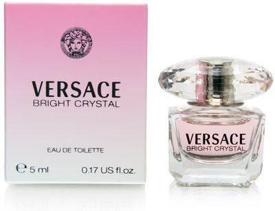 Bright Crystal POUR FEMME par Versace - 5 ml Eau de Toilette Mini
