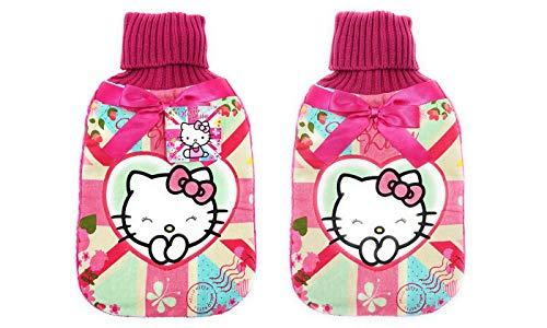 Hello Kitty Blossom Dream Design Wärmflasche mit Bezug / Hello Kitty Wärmflasche und Bezug, Set