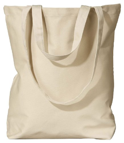 econscious 8 oz. Organic Cotton Twill Everyday Tote OS Oyster