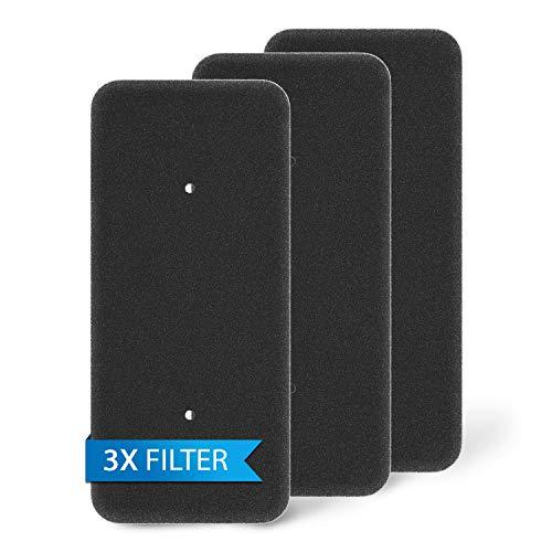 Juego de 3 filtros de esponja de repuesto para secadora Hoover Candy 40006731 VHC 970AT-84/ VTH 980NA1TX/ VTH 980NA2T