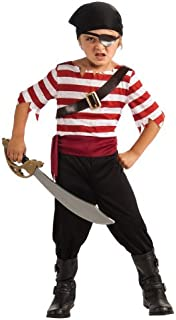 Halloween Sensations Child's Black Jack The Pirate Costume, Large