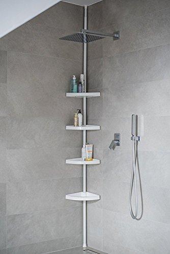 L'étagère de douche télescopique extensible de SK